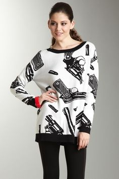 It's an interesting sweater.