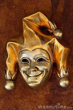 Royalty Free Stock Images: Venetian mask of harlequin. Image: 2490859