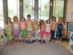 Literacy and Laughter - Celebrating Kindergarten children and the books they love: End of the Year Luau