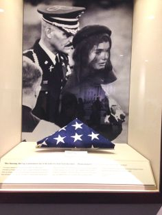 The flag that was draped on his coffin.RIP★★★★★★★★★RIP http://en.wikipedia.org/wiki/State_funeral_of_John_F._Kennedy http://www.jfklibrary.org/Asset-Viewer/QFe9DUgbmE6ARwL9qyyvLw.aspx