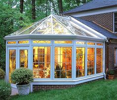 Four Seasons Sunroom (this would make a great studio... inspiration from the seasons, the wee creatures & birds. When you need a break, cup of tea or glass of wine and sit back and look into the back yard, I would have lots of flowers.