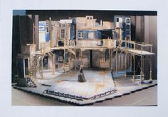 The Life and Adventures of Nicholas Nickleby Part I. Model. Chichester Festival Theatre. Scenic design by Simon Higlett. 2006