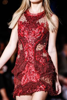 Versace fall 2014 rtw details