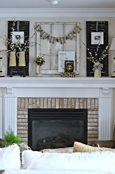1000 images about mantel displays on pinterest mantels for Mantel display ideas