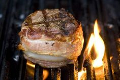 I used this grill guide when indoor grilling filets.  They come out beautiful every time.
