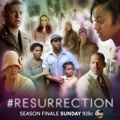 WHERE and WHEN have all of these resurrected residents come from? Catch #Resurrection's thrilling season finale, Sunday at 9|8c on ABC.