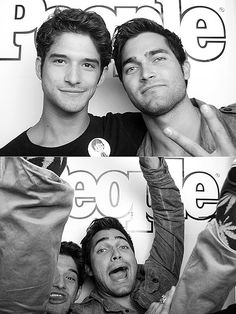 Too much perfection in one picture! The Tyler and Tyler show! (Posey & Hoechlin)