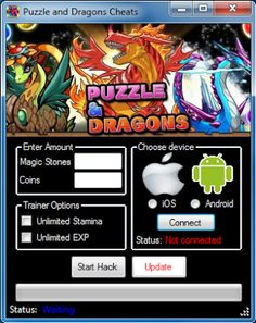 Puzzle and Dragons Hack 2014 No Download -  http://thenetland.com/puzzle-and-dragons-hack-unlimited-magic-stones-cheats/