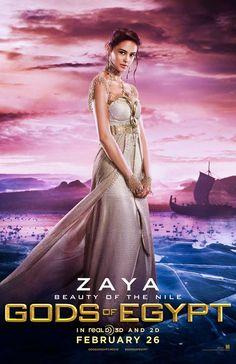 Courtney Eaton is Zaya In 'Gods Of Egypt' - See The Poster! Gerard Butler, Gods Of Egypt Movie, Elodie Yung, Courtney Eaton, Image Internet, Meninos Teen Wolf, Egyptian Mythology, Kino Film, Movie Costumes