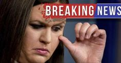 SABOTAGE! After Latest Attack, Sarah Sanders Gives Media Quote They Did NOT Want To Print – Trump Friends