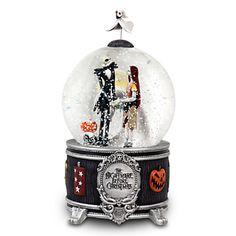 Jack Skellington and Sally Snowglobe | Snowglobes | Disney Store
