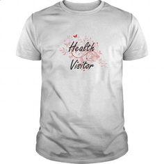 Health Visitor Artistic Job Design with Butterflies - #cheap shirts #sleeveless hoodies. MORE INFO => https://www.sunfrog.com/Jobs/Health-Visitor-Artistic-Job-Design-with-Butterflies-White-Guys.html?id=60505
