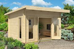 Cabin Life - Affordable Housing Art Studio Skillion - Build Yourself Cabin 2015 Pallet Shed, Pallet House, Barbados, Pergola Alu, Flat Roof Shed, Timber Cabin, Guest Cabin, Double Vitrage, Cubby Houses