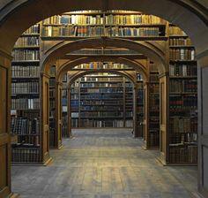 dit is een bibliotheek molly heeft hier het hypnose boek gevonden dat zo belangrijk is voor het verhaal