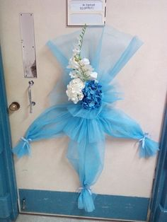 Hospital door decorations on pinterest hospital door for Baby boy hospital door decoration