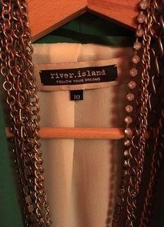 Kup mój przedmiot na #vintedpl http://www.vinted.pl/damska-odziez/marynarki-zakiety-blezery/15859686-zielona-marynarka-river-island