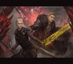 Temple of Dumat Battle (Dragon Age Inquisition) by GerryArthur.deviantart.com on @DeviantArt