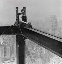 The Men who built the Empire State Building in the 1930's