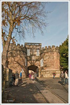 The Gateway - Skipton Castle, Skipton, North Yorkshire, England Copyright: Beverley Robinson