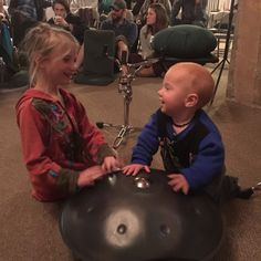 Making #music with new friends. #vegankids unite!