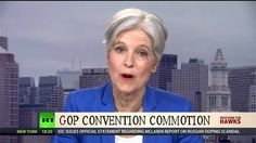 Jill Stein Talks About Hate Filled Republican National Convention - YouTube