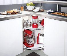 Corner Kitchen Solutions by Hafele