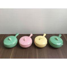 Onion Soup Bowls • Set of 4 by VintageByJoe on Etsy