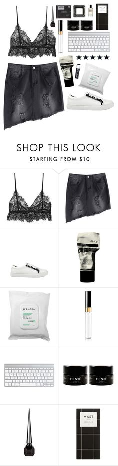 """Nirvana"" by mode-222 ❤ liked on Polyvore featuring Chapstick, Aesop, Sephora Collection, Chanel, Christian Louboutin and D.S. & DURGA"