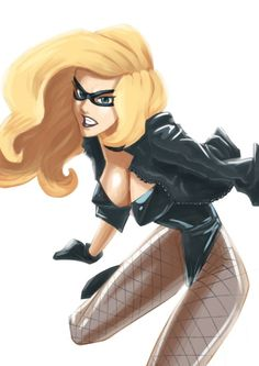 Black Canary by Lim Zhi Chuan