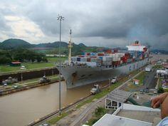 Canal do Panama - Obra do alargamento vai impulsionar transporte de cargas entre Asia e Americas