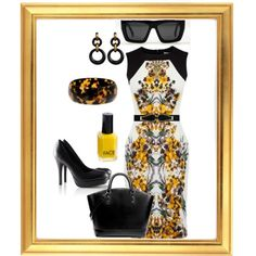 uptown chic, created by penny-schutt on Polyvore