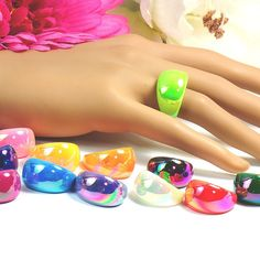 Cluster Ring, Filing, Crafting, Things To Do, Ring, Handarbeit