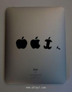 iPad decal... if only I had an iPad...
