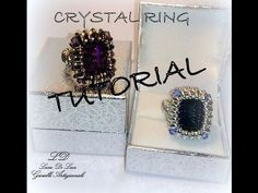 Tutorial Anello CRYSTAL RING - YouTube