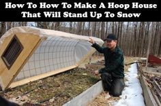 I love hoop houses. You can count on a month and a half or so of extra gardening time and you can continue to grow all through the winter with a hoop house. Even better, the portable variety of hoop houses can be removed when needed.