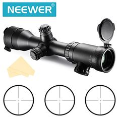 Special Offers - Neewer 1.5-6X42IR Waterproof Fogproof Shockproof Objective Diameter 24mm Magnification 1X-4X AR Optics FFP Illuminated Varmint Target Dot Riflescope with Target Turrets and Throw Down PC V4203IR - In stock & Free Shipping. You can save more money! Check It (August 19 2016 at 07:27AM)…