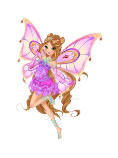 Flora Winx, Season 8, Winx Club, Fairy, Princess Zelda, Deviantart, Fictional Characters, Saga, Crystal