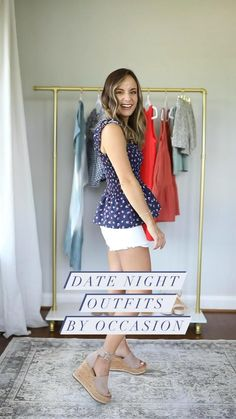 Date Night Outfit Curvy, Casual Date Night Outfit Summer, Summer Dress Outfits, Cute Outfits, Petite Outfits, Business Casual Outfits, Women's Summer Fashion, Petite Fashion, Packing List For Cruise