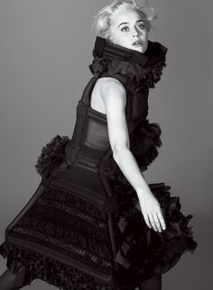 Katy Perry in Comme des Garçons for Her *Vogue* Cover Shoot