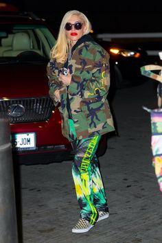 Gwen Stefani Style, Platform, Sporty, Street Style, Winter, Closet, Fashion, Style, Watercolor Painting