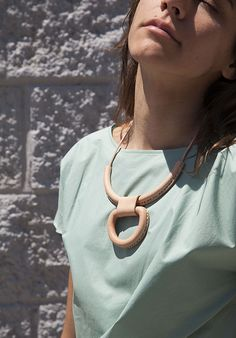 Crescioni Union necklace at Maryam Nassir Zadeh
