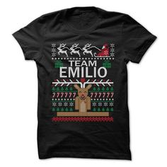 Team EMILIO Chistmas - Chistmas Team Shirt ! - #gift for guys #retirement gift. WANT THIS => https://www.sunfrog.com/LifeStyle/Team-EMILIO-Chistmas--Chistmas-Team-Shirt-.html?68278