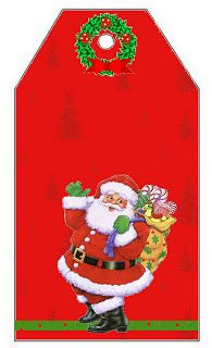 Papai Noel – Kit Completo com molduras para convites, rótulos para guloseimas, lembrancinhas e imagens!   Fazendo a Nossa Festa
