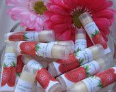 For the Family, Natural Lip Conditioner, Strawberry, Lip Balm, gifts for Women, Men, Children, Anyone