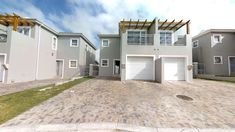 3 Bedroom Duplex For Sale in Brackenfell South Excellent lock up and go value. Small Laundry, Laundry Room, Duplex For Sale, Guest Toilet, Water Lighting, Coastal Homes, Plan Design, Beautiful Kitchens, Open Plan