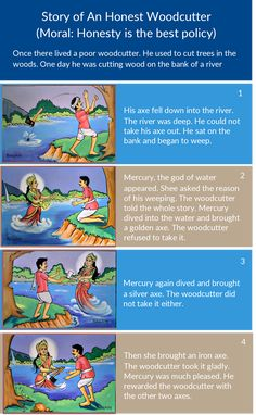 Beautiful Storyboard Examples for Students, for Kids and General Usage Small Moral Stories, Small Stories For Kids, Stories With Moral Lessons, Picture Story For Kids, English Moral Stories, Moral Stories In Hindi, English Stories For Kids, English Story, English Lessons For Kids