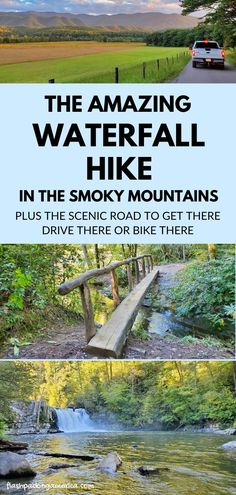 Most Visited National Parks, Us National Parks, Tennessee Vacation, Gatlinburg Tennessee, Tennessee Cabins, Vacation Spots, Vacation Ideas, Vacation Places, Waterfall Hikes