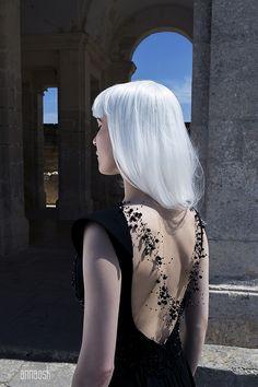 Model Eugenia Rosenstam Clothing Nilara Styling Malcolm Gauci Hair Ari Koponen Assistant Steven Muliett ©Anna Ósk Erlingsdóttir All rights