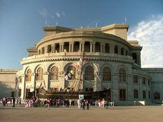 The building of Yerevan Opera House, Armenia