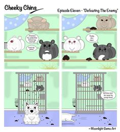Cheeky Chins - Episode 11 - Defeating The Enemy